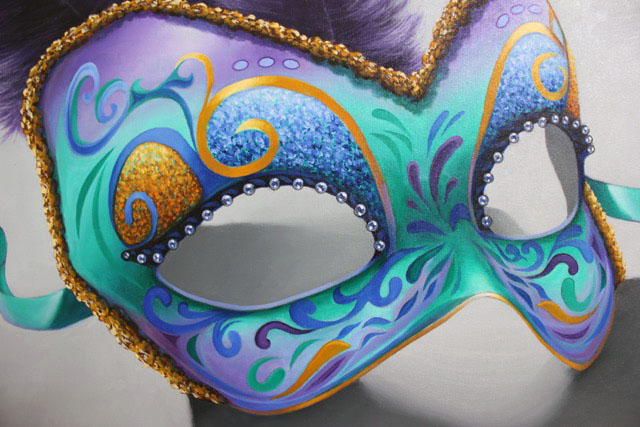 Masquerade -- client in New Orleans