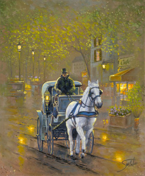 Evening Carriage -- M. Williams, Plano, TX