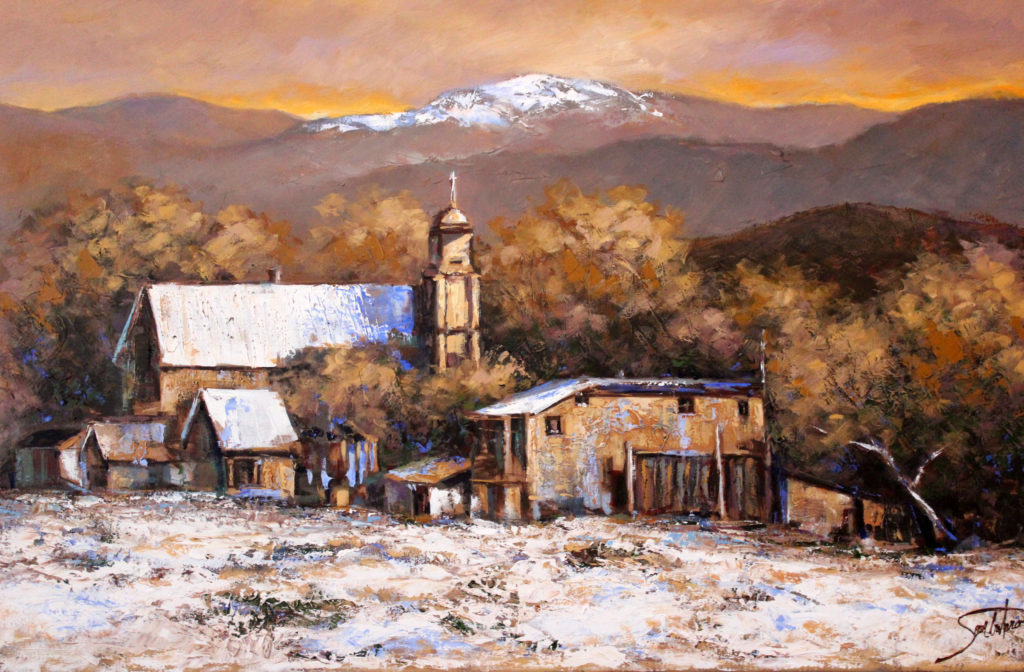 "OLD MISSION - 24""x36"" (Use Code OM100)"