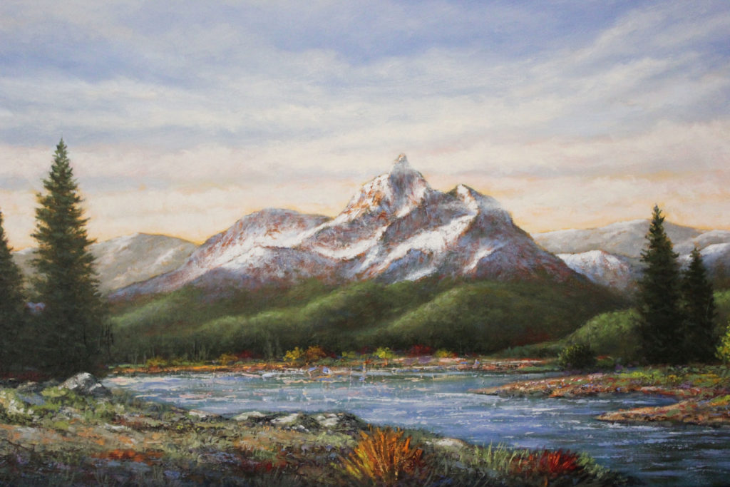 "MOUNTAIN VIEW LAKE - 24""x48"" (Use Code MVL2318)"