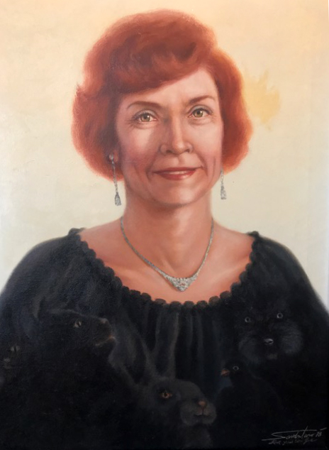 MARY JANE - (Artist's Mother) for Family