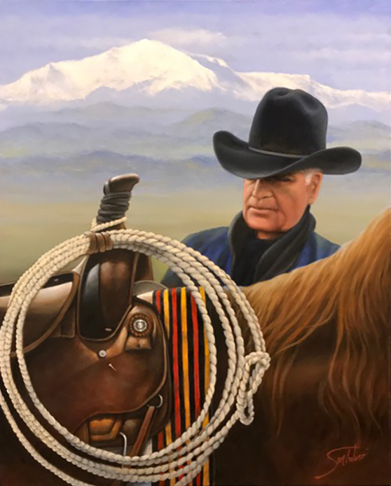 Marlboro Man - Robert C. Norris, donated to The Norris Foundation in support of Autism Treatment Centers