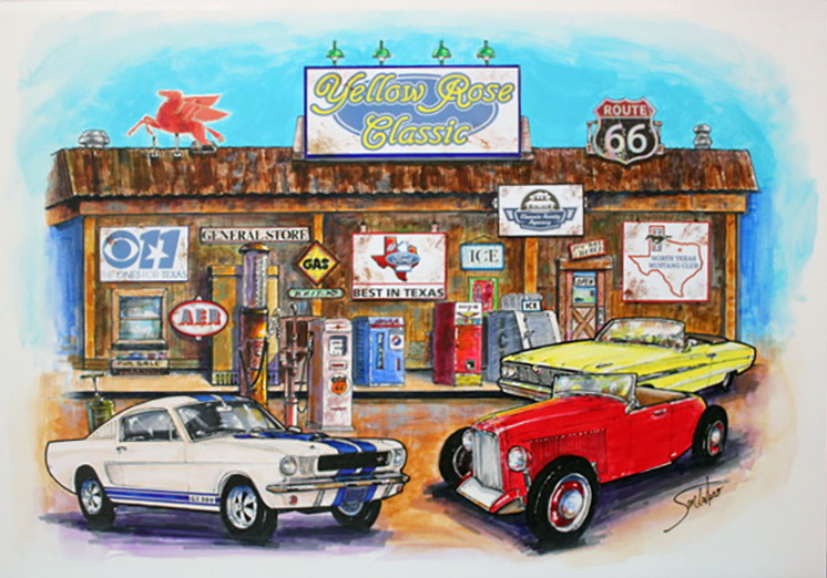 Yellow Rose Classic - Dallas Mustang Club 2019 Rally